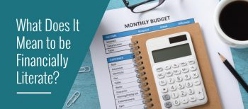blog image of monthly budget tracker suggesting financial literacy for april financial literacy month
